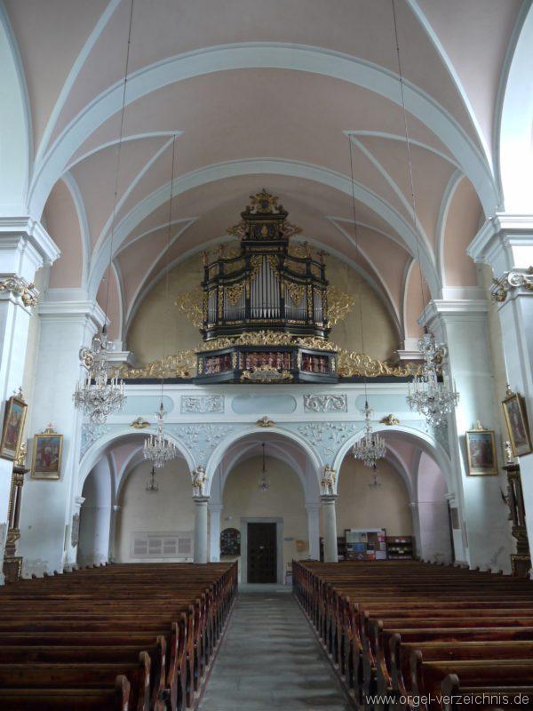 Berg Rohrbach Stadtkirche St. Jakobus Prospekt VII
