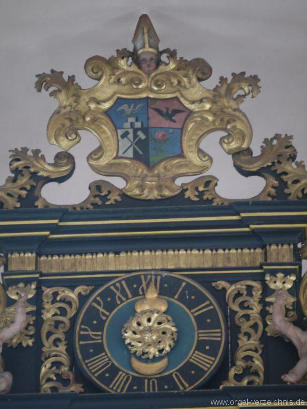 Berg Rohrbach Stadtkirche St. Jakobus Prospektdetail I