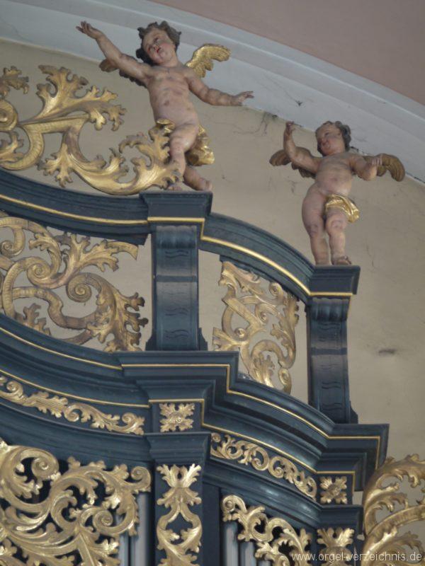 Berg Rohrbach Stadtkirche St. Jakobus Prospektdetail II