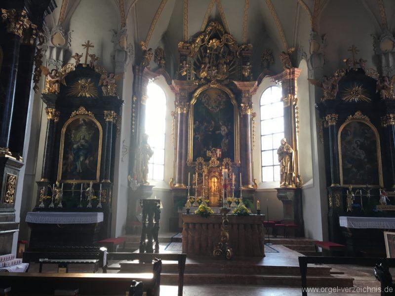 Brixlegg - Pfarrkirche U. L. Frau Vermählung (7)
