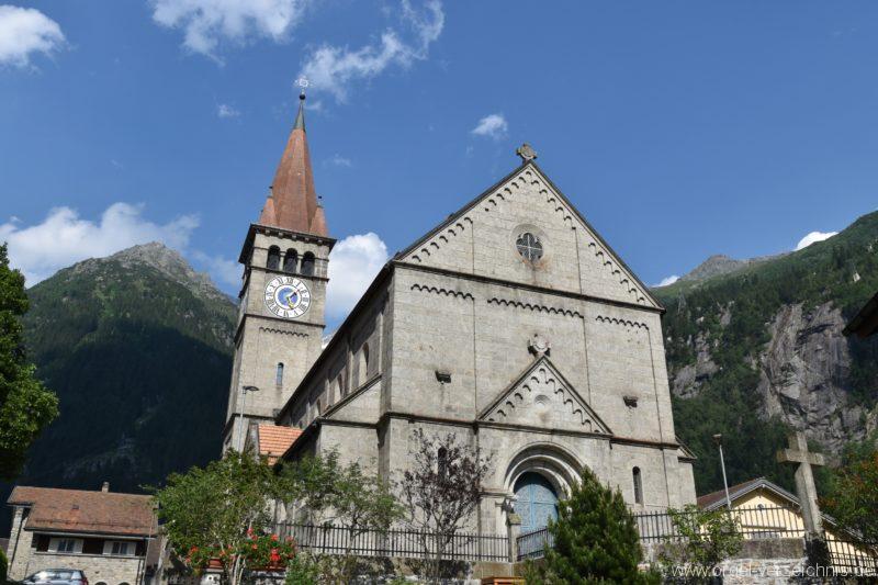 Göschenen St. Mariä Himmelfahrt Aussenansicht II