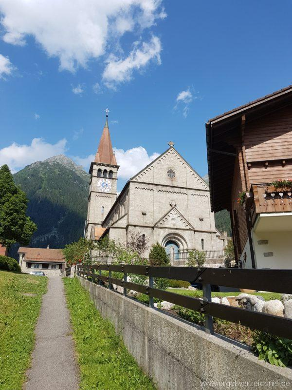 Göschenen St. Mariä Himmelfahrt Aussenansicht III