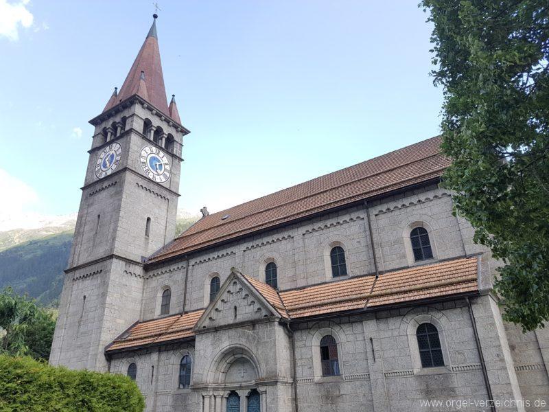 Göschenen St. Mariä Himmelfahrt Aussenansicht IV