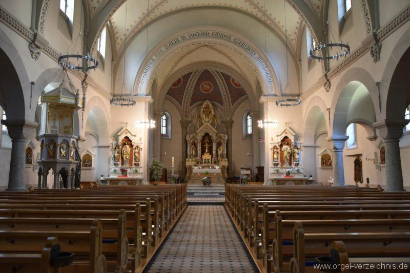 Göschenen St. Mariä Himmelfahrt Innenansicht I