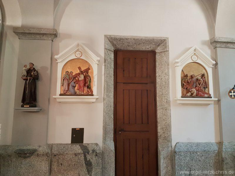 Göschenen St. Mariä Himmelfahrt Innenansicht IV
