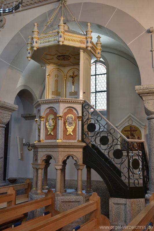Göschenen St. Mariä Himmelfahrt Kanzel I