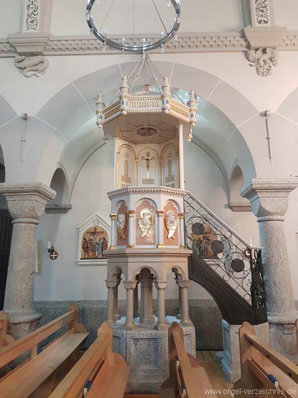 Göschenen St. Mariä Himmelfahrt Kanzel II