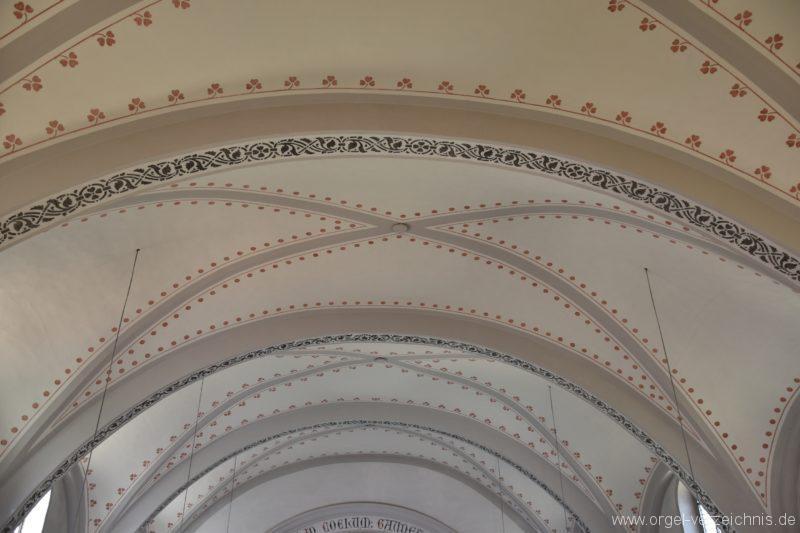 Göschenen St. Mariä Himmelfahrt Kirchendecke I