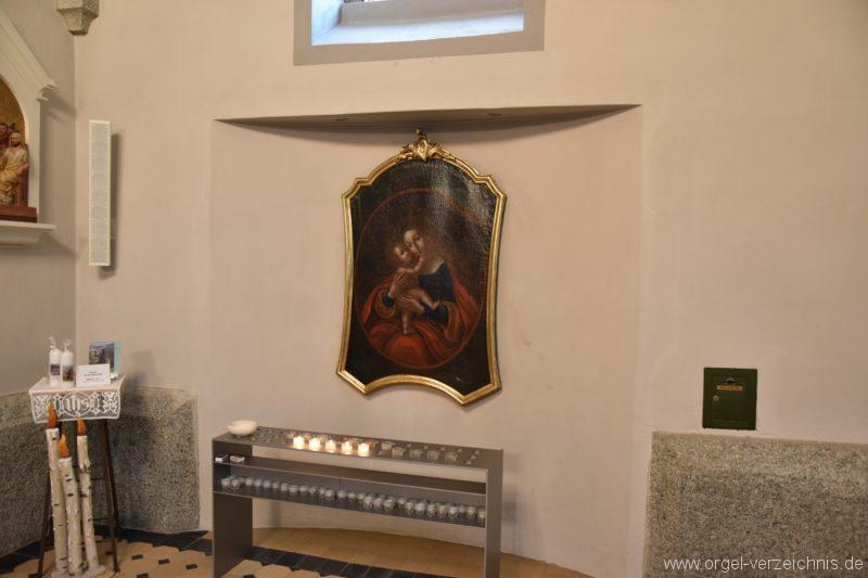 Göschenen St. Mariä Himmelfahrt Marienaltar