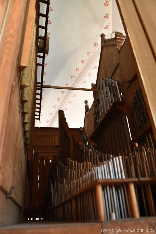 Göschenen St. Mariä Himmelfahrt Orgelinneres I