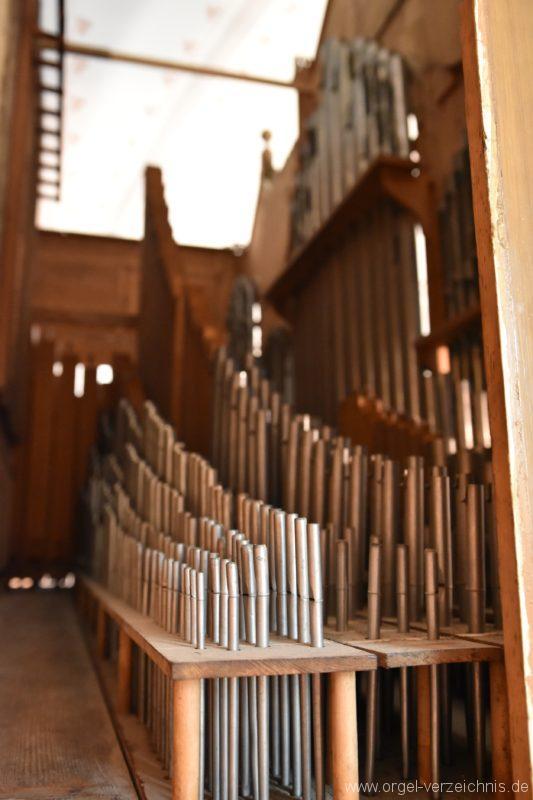 Göschenen St. Mariä Himmelfahrt Orgelinneres II