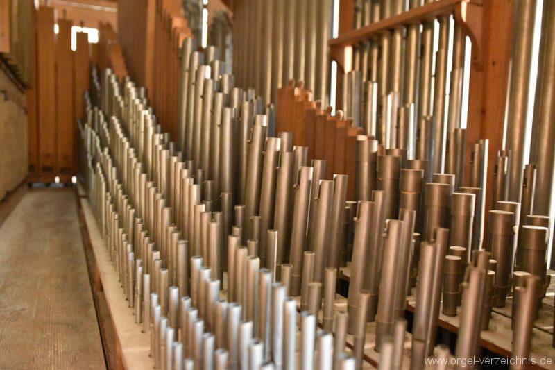 Göschenen St. Mariä Himmelfahrt Orgelinneres III