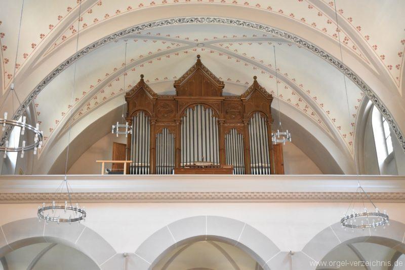 Göschenen St. Mariä Himmelfahrt Orgelprospekt II