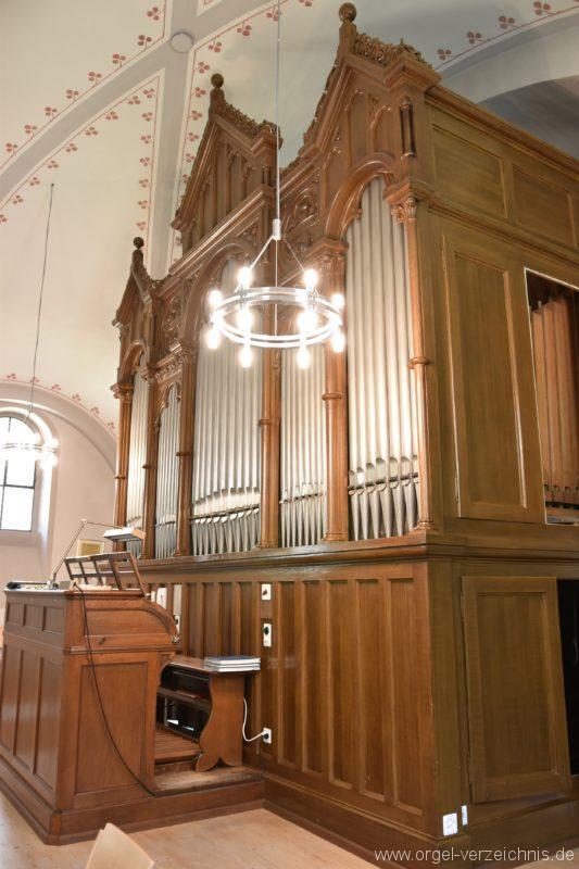 Göschenen St. Mariä Himmelfahrt Orgelprospekt III