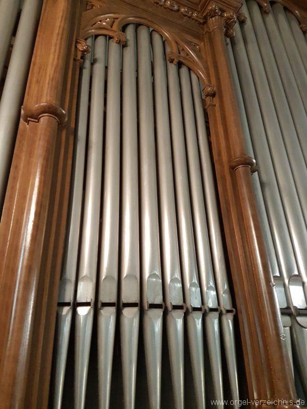 Göschenen St. Mariä Himmelfahrt Orgelprospekt VII