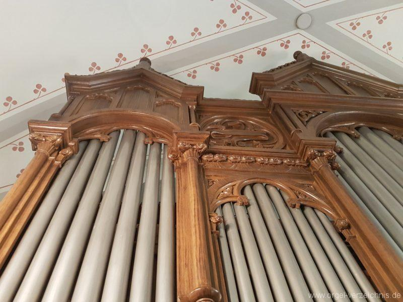 Göschenen St. Mariä Himmelfahrt Orgelprospekt VIII
