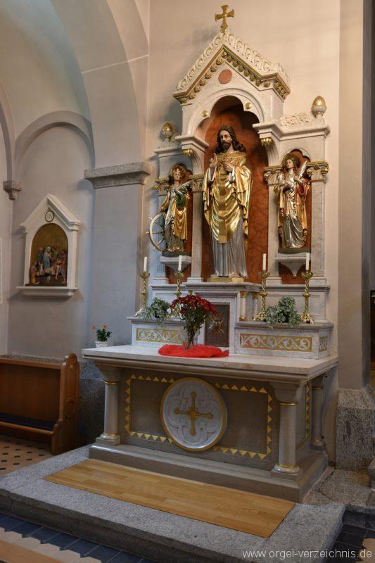 Göschenen St. Mariä Himmelfahrt Seitenaltar I