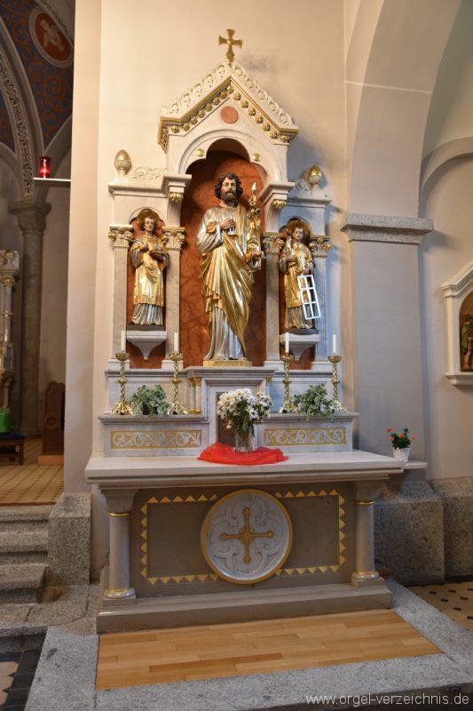 Göschenen St. Mariä Himmelfahrt Seitenaltar II