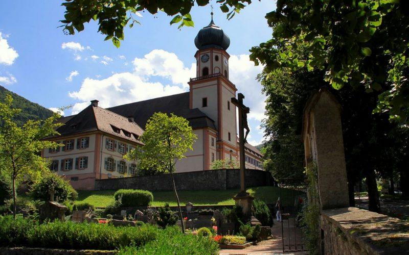 Münstertal St. Trudpert Ausenansicht II