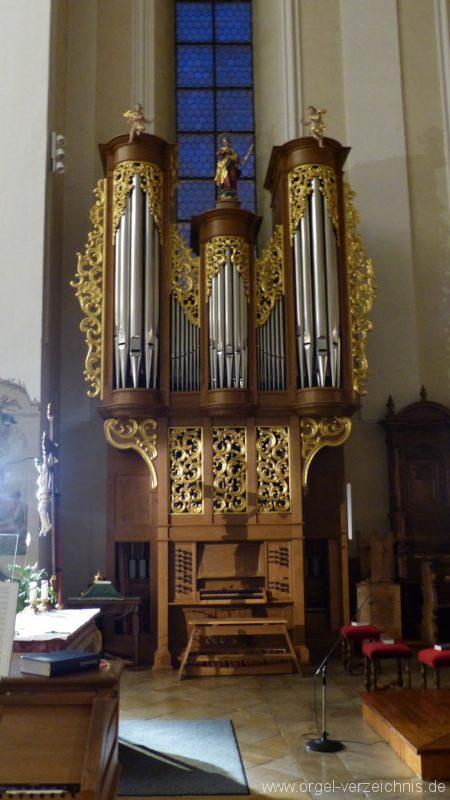 Münstertal St. Trudpert Chororgel II