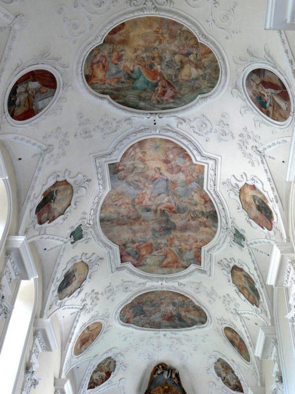 Münstertal St. Trudpert Decke I