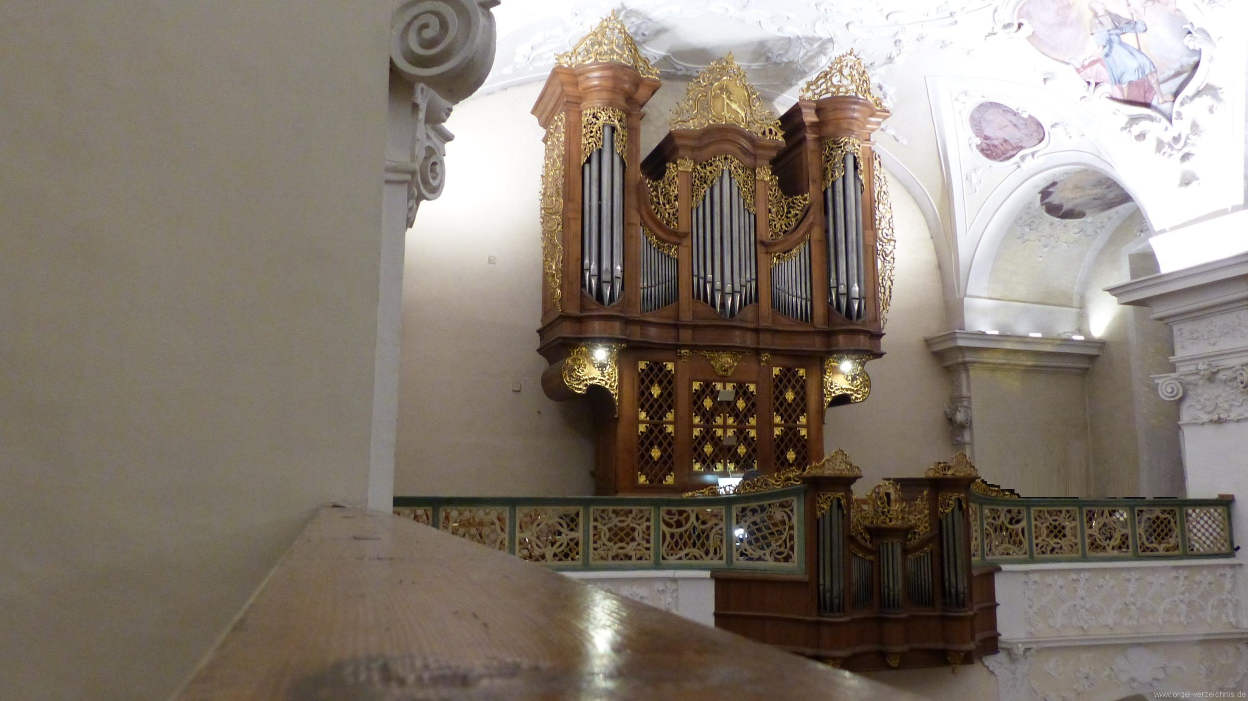 Münstertal St. Trudpert Hauptorgel Prospekt III