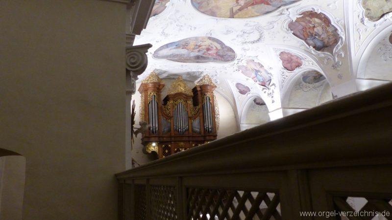 Münstertal St. Trudpert Hauptorgel Prospekt V
