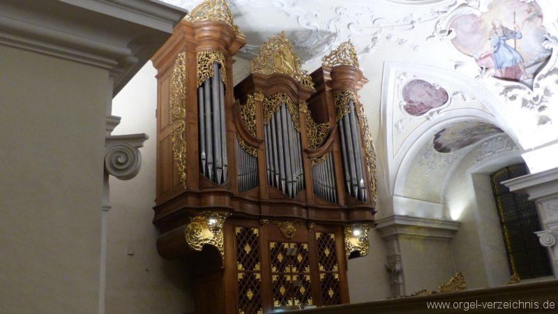 Münstertal St. Trudpert Hauptorgel Prospekt VI