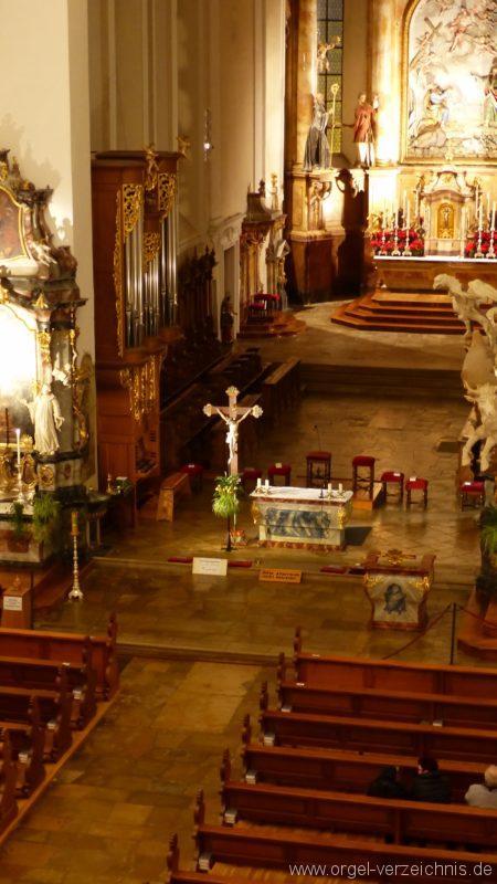 Münstertal St. Trudpert Innenansicht II