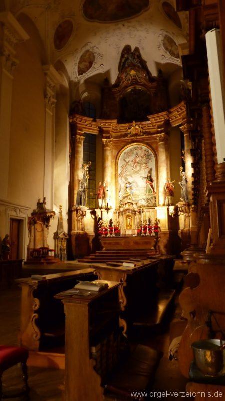 Münstertal St. Trudpert Innenansicht III