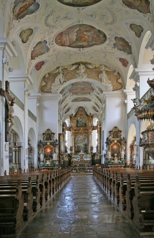 Münstertal St. Trudpert Innenansicht IV