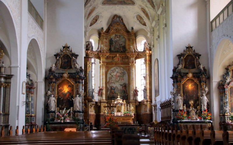 Münstertal St. Trudpert Innenansicht V