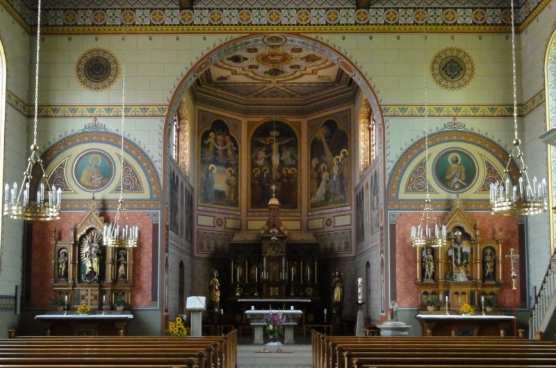 Bollschweil St. Hilarius Innenansicht III