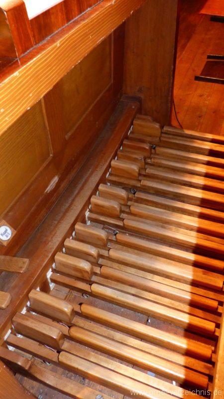 Bollschweil St. Hilarius Pedal I