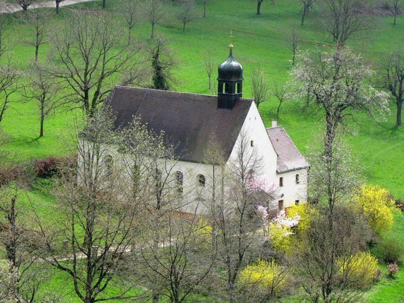 Ebringen Berghauser Kapelle St. Trudpert Aussenansicht I