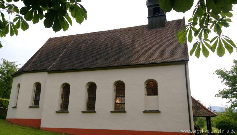 Ebringen Berghauser Kapelle St. Trudpert Aussenansicht IV