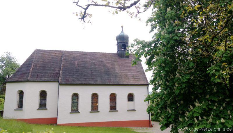 Ebringen Berghauser Kapelle St. Trudpert Aussenansicht V