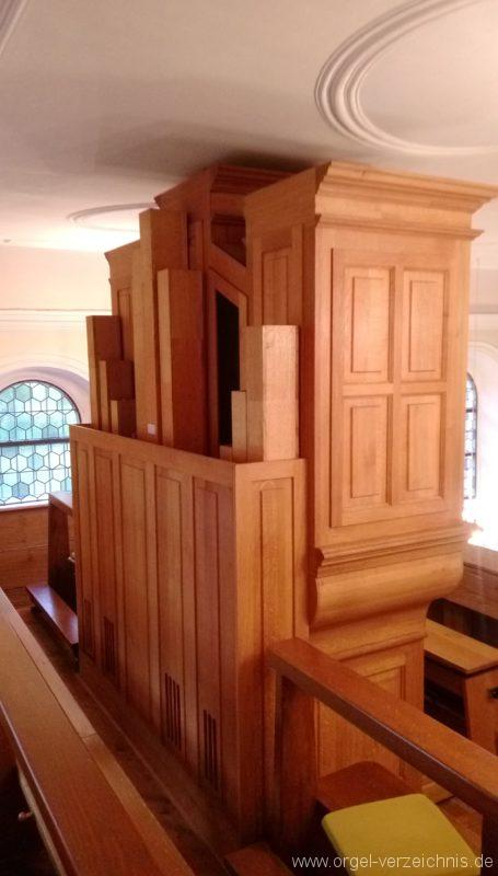 Ebringen Berghauser Kapelle St. Trudpert Hinteransicht Orgel