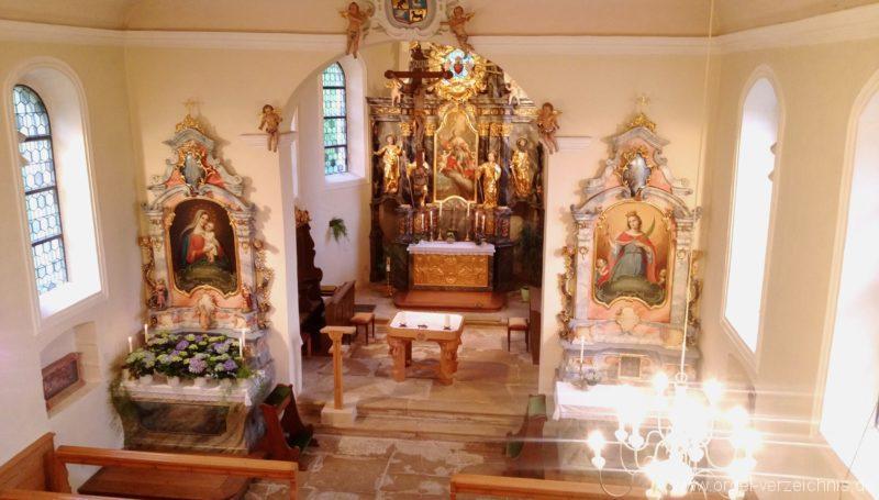 Ebringen Berghauser Kapelle St. Trudpert Innenansicht I