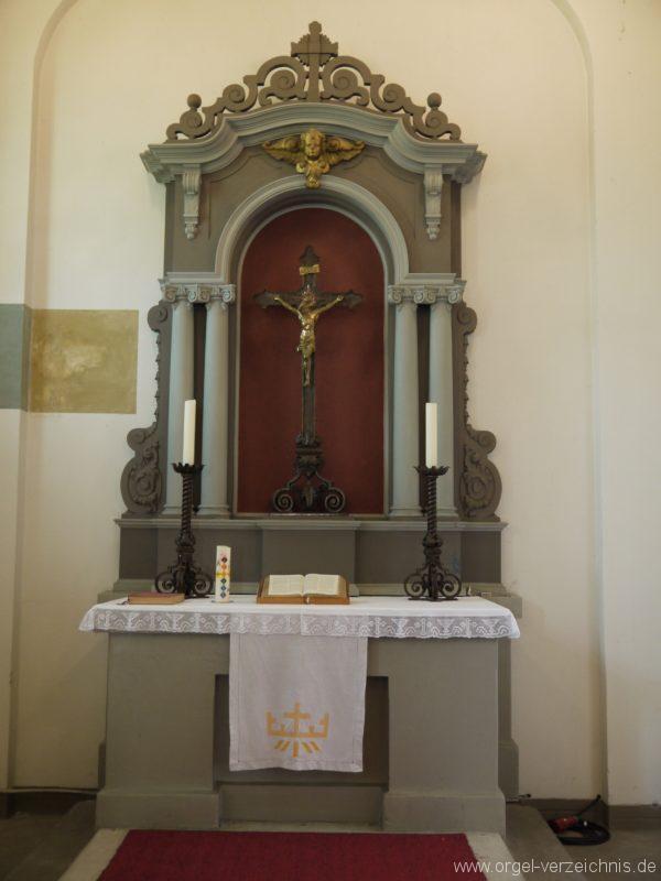 Königs Wusterhausen Niederlehme Dorfkirche Altar I