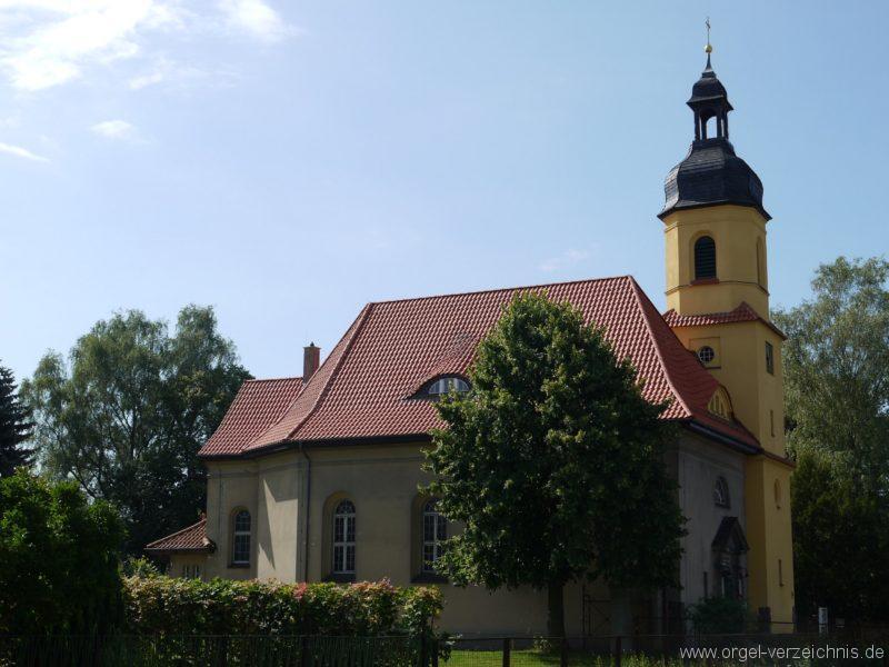 Königs Wusterhausen Niederlehme Dorfkirche Aussenansicht I