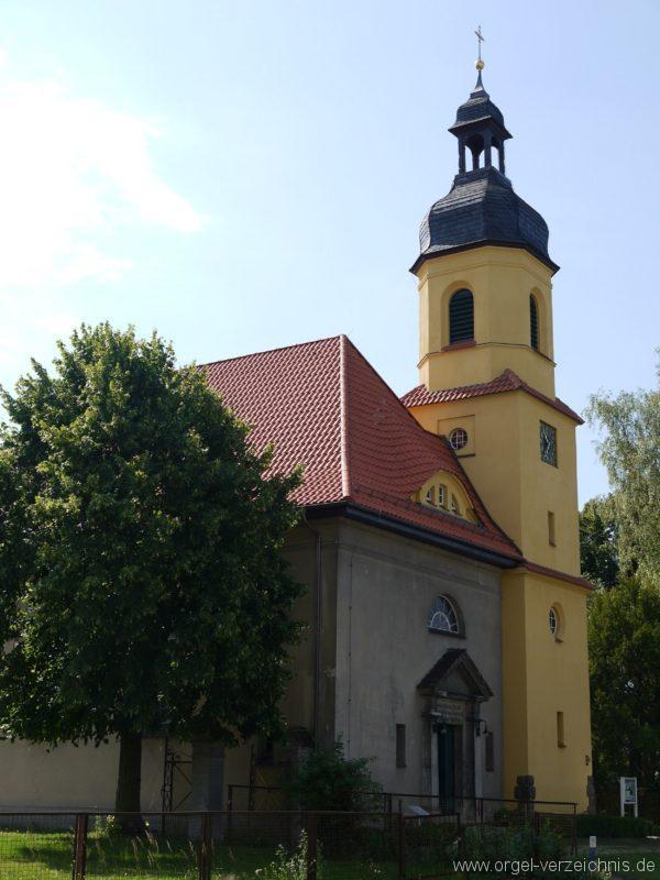 Königs Wusterhausen Niederlehme Dorfkirche Aussenansicht II