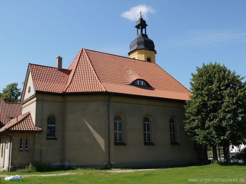 Königs Wusterhausen Niederlehme Dorfkirche Aussenansicht III