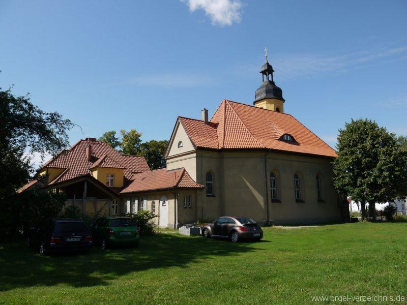 Königs Wusterhausen Niederlehme Dorfkirche Aussenansicht IV