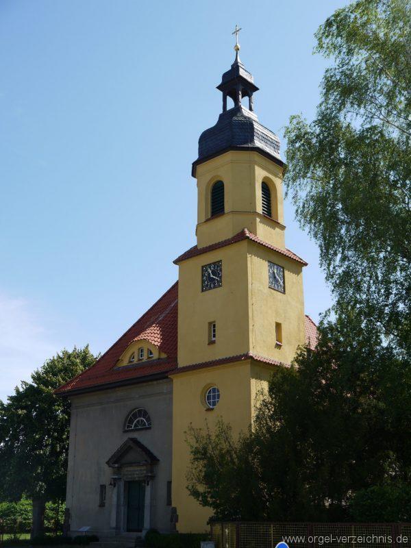 Königs Wusterhausen Niederlehme Dorfkirche Aussenansicht V