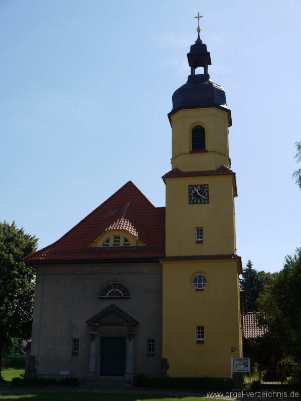 Königs Wusterhausen Niederlehme Dorfkirche Aussenansicht VI
