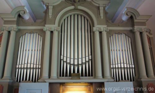 Königs Wusterhausen Niederlehme Dorfkirche Orgelprospekt I