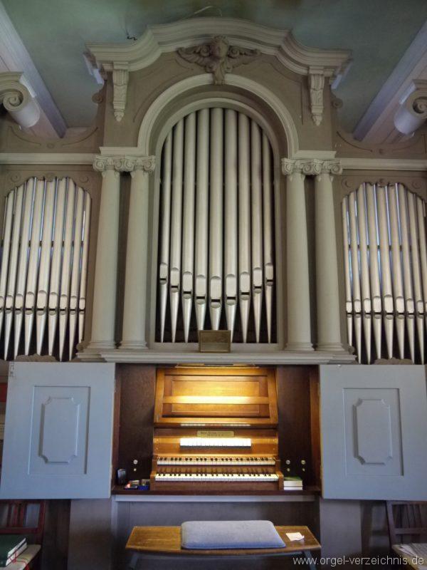 Königs Wusterhausen Niederlehme Dorfkirche Orgelprospekt II