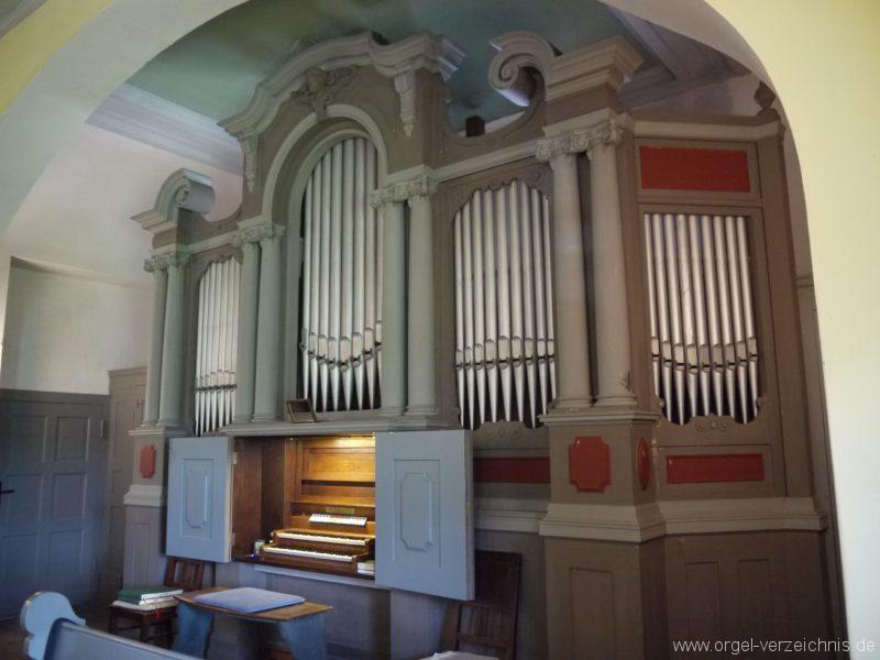 Königs Wusterhausen Niederlehme Dorfkirche Orgelprospekt III