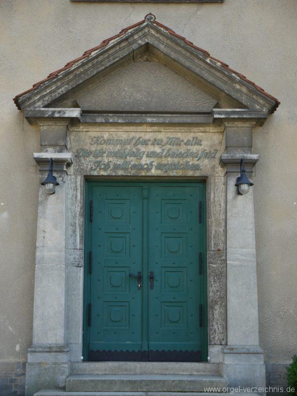 Königs Wusterhausen Niederlehme Dorfkirche Portal I